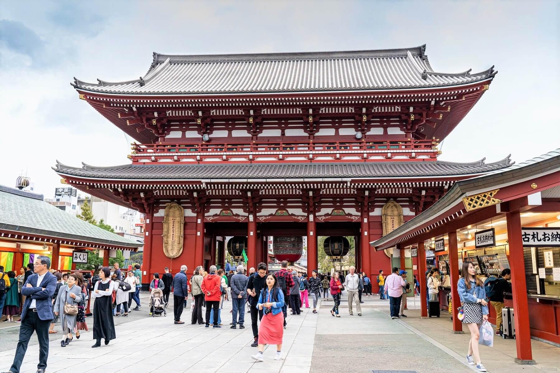 Travel Guide of the Sensoji Temple in Asakusa Tokyo, Japan