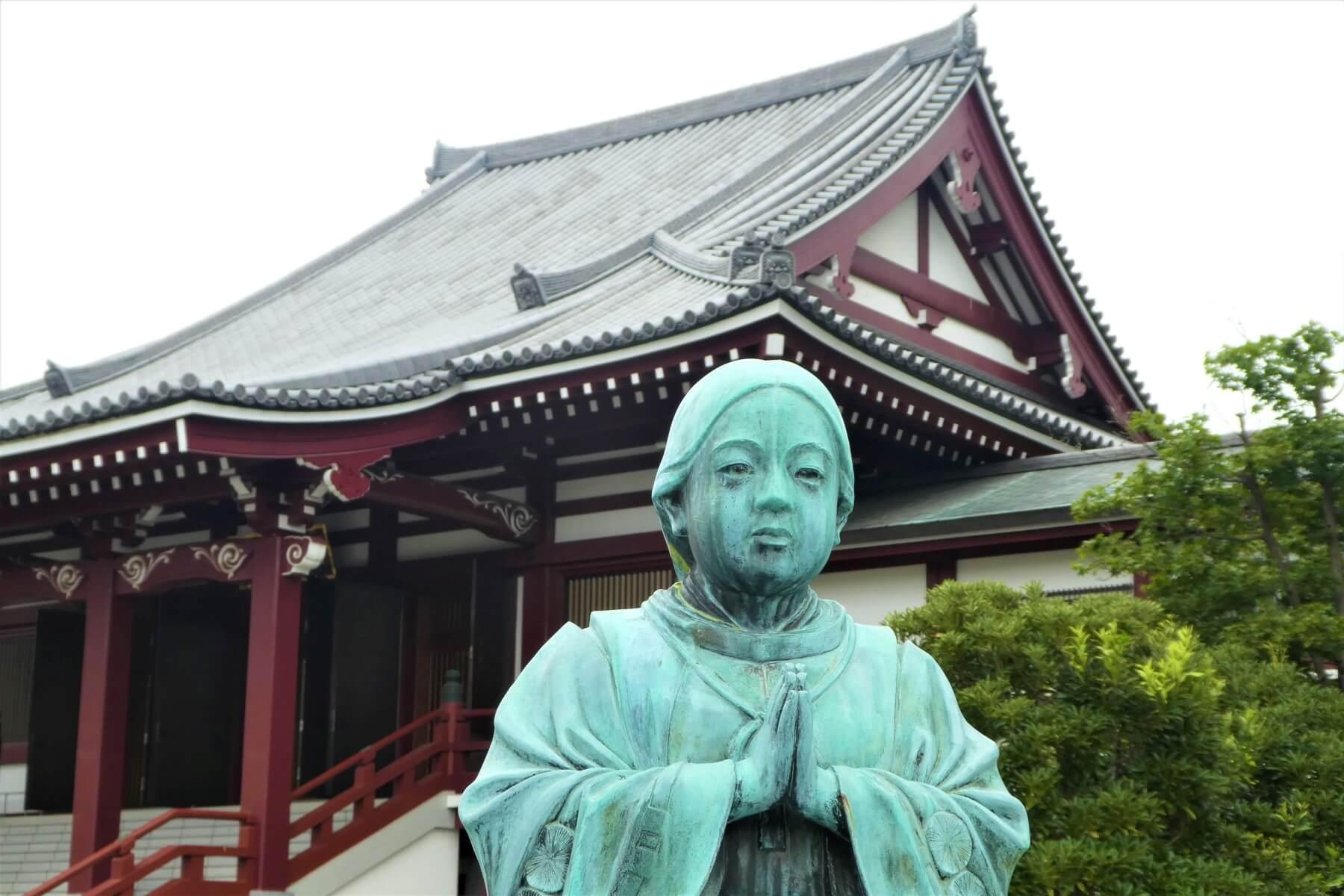 The special Zojoji Temple in Minato, Tokyo