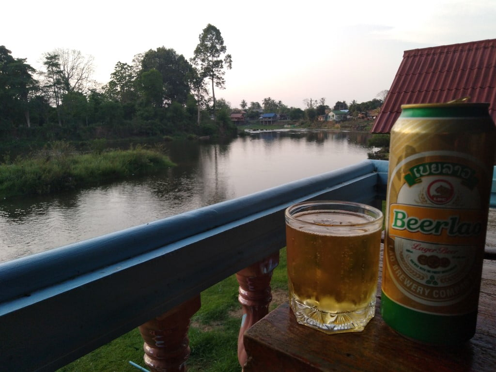 Lao Beer at Tad Lo, Laos