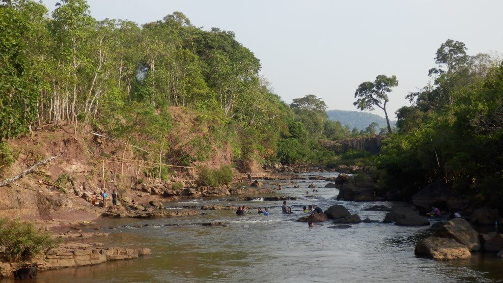 A river to relax, Tad Lo, Laos