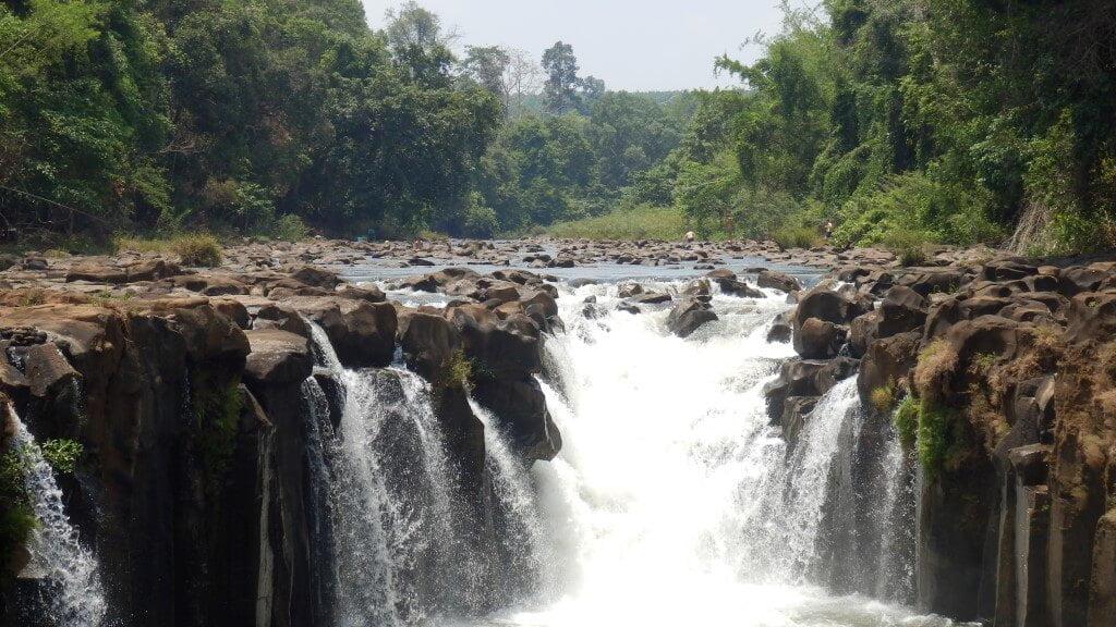 Tad Phasuam Falls, Pakse loop
