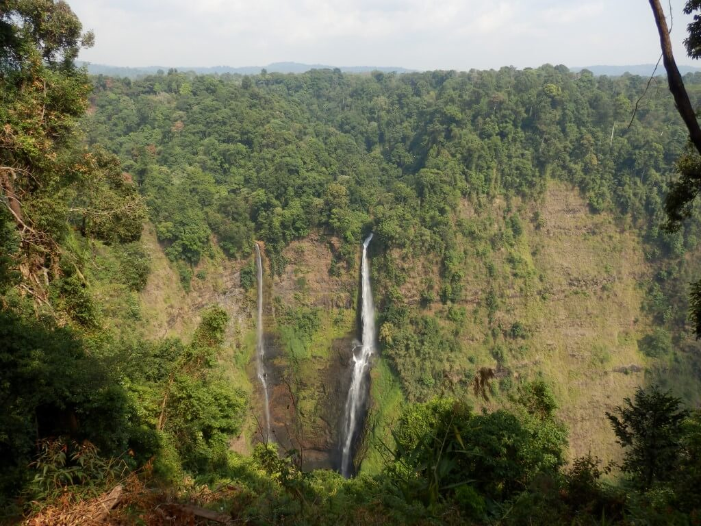 Tad Fane Waterfall, highest of Laos?