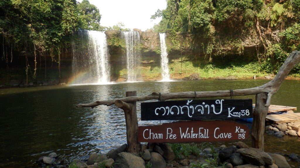 Cham Pee Waterfall, Pakse loop