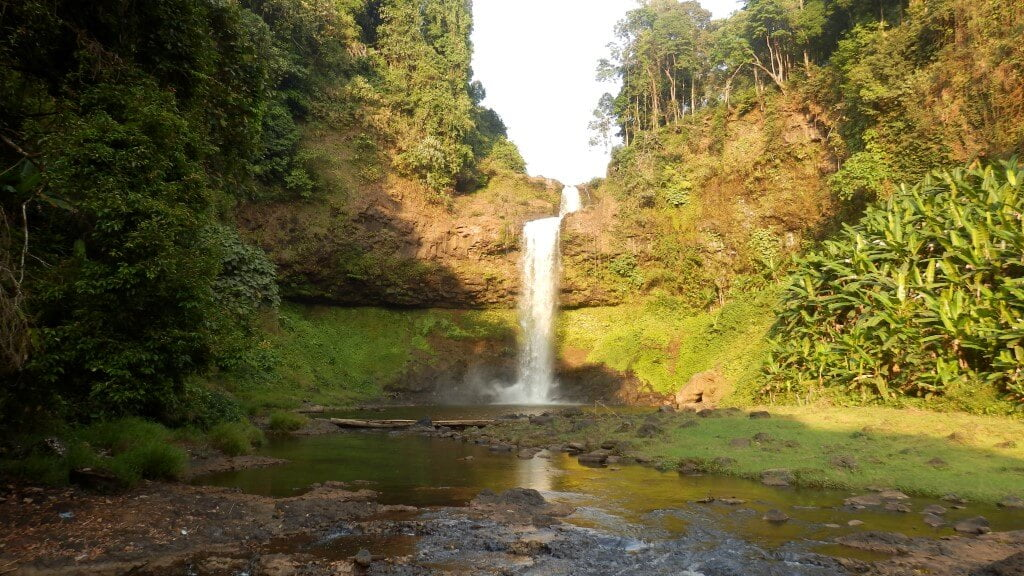 E-Tu waterfall, Bolaven Plateau