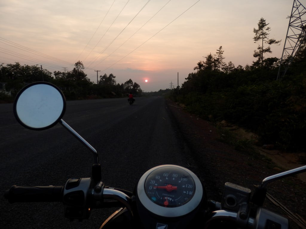 On the Motorbike to Pakse