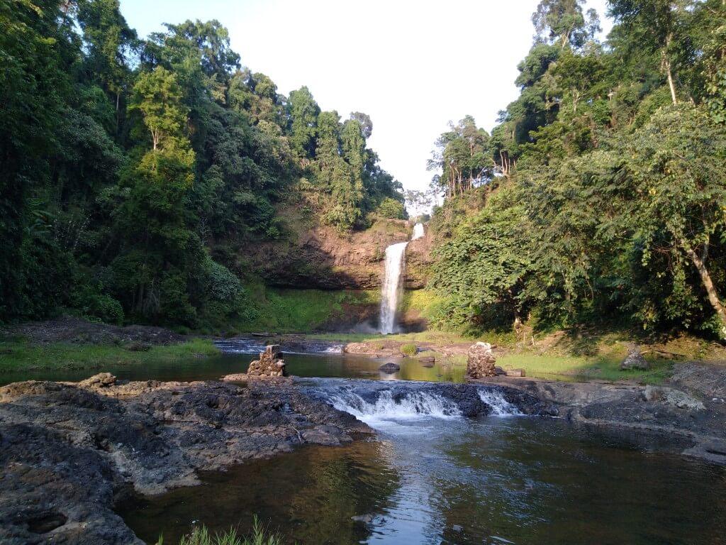 E-Tu Waterfall, Pakse
