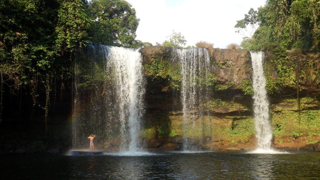 Pakse Loop Cham Pee Waterval