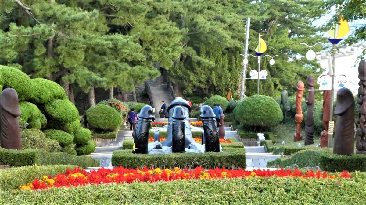 The Penis Park in South Korea