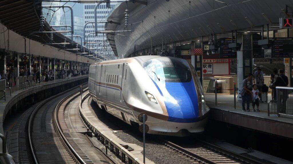 From Tokyo to Mount Fuji by Shinkansen
