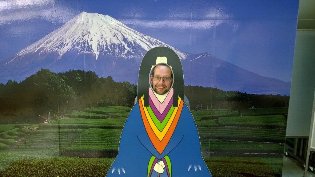 Me and Mount Fuji