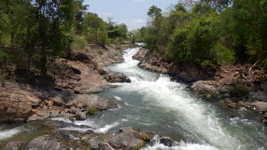 Tad Khone Pa Soi Waterval 4000 Islands Laos