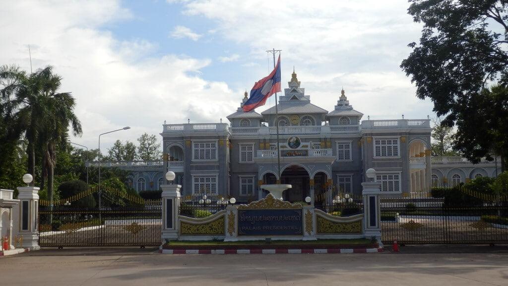 Presidential Palace Vientiane Laos