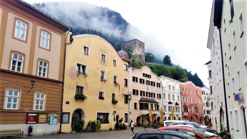 Accommodation: Hotel Schlosskeller in Rattenberg