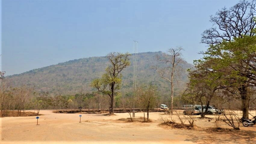 Dongrek Mountains in Cambodia