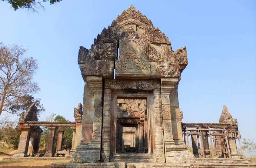 Beautiful Khmer architecture