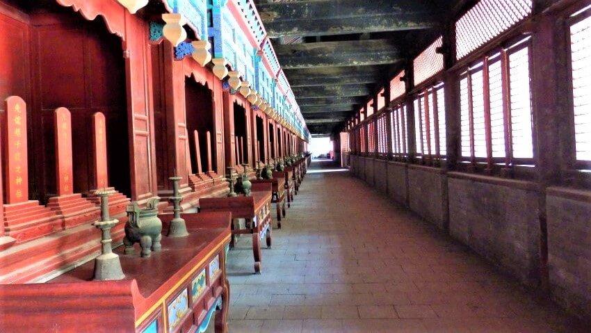 The temple of Confucius in Qufu