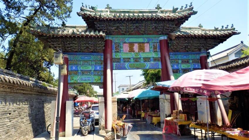 City Market in China