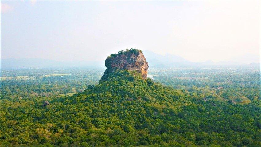 View on Sigiriya Rock, Sri Lanka