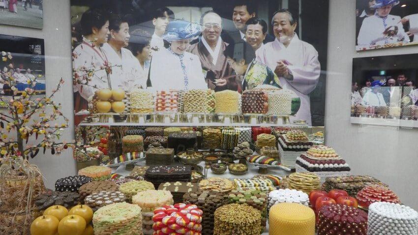 Queen Elizabeth in Andong, South Korea