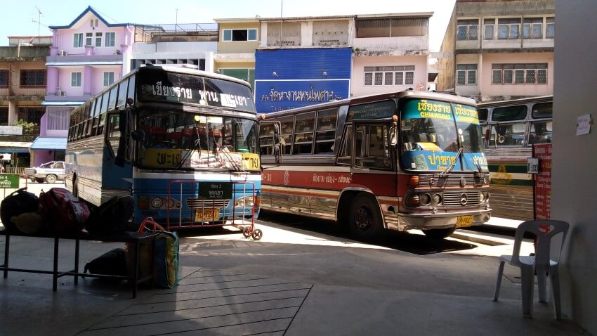 Bus Terminal 1 in Chiang Rai