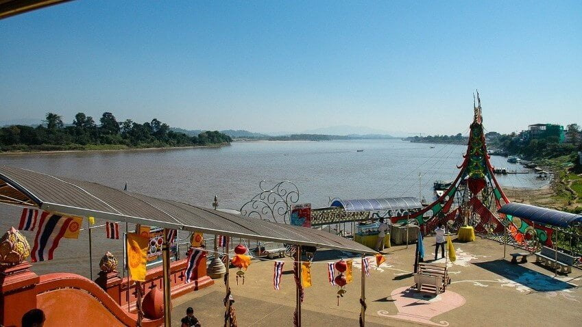 The Golden Triangle, border of Thailand
