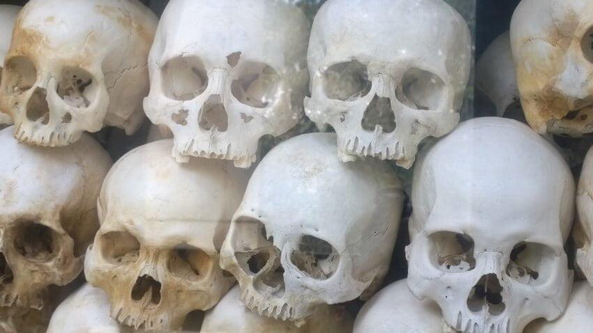 History: The killing fields, Cambodia