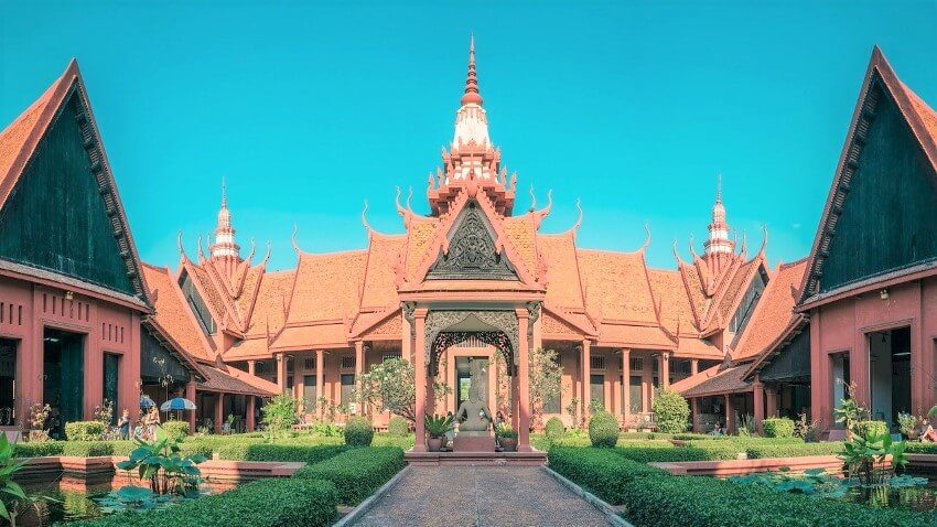 Sights in Phnom Penh: National Museum