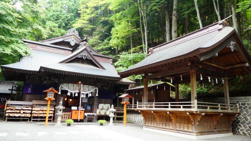 Arakura Sengen Shrine in Japan