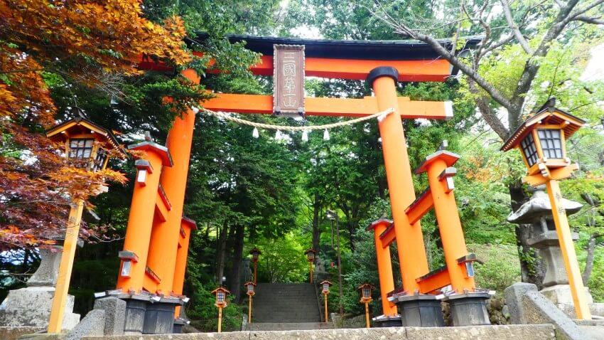 Arakura Sengen Shrine in Fujiyoshida