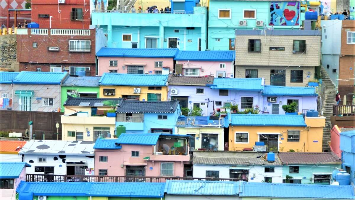 Gamcheon Village in Busan, South Korea