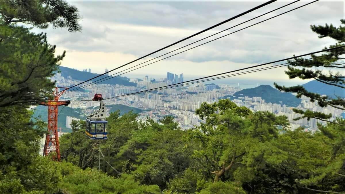 Geumgang Park and the ropeway