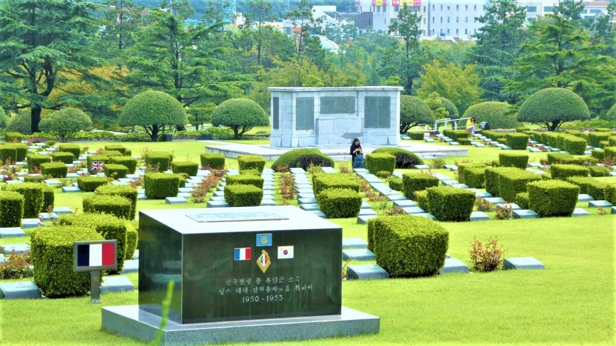 United Nations Cemetery in Busan