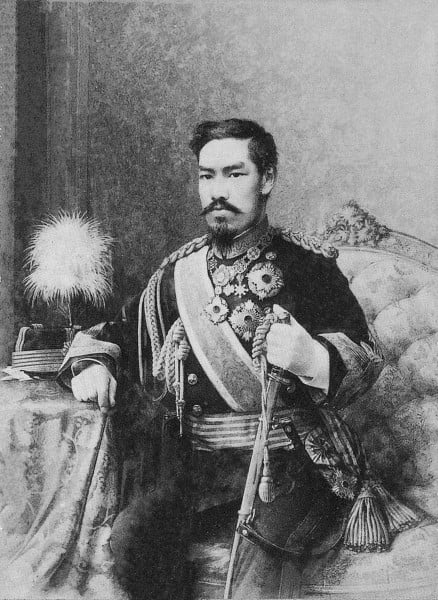Emperor Meiji from Japan