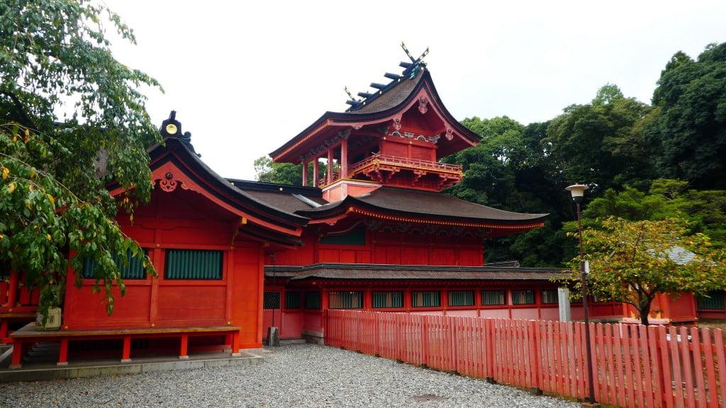 Prayer hall of Fujisan Sengen Shrine