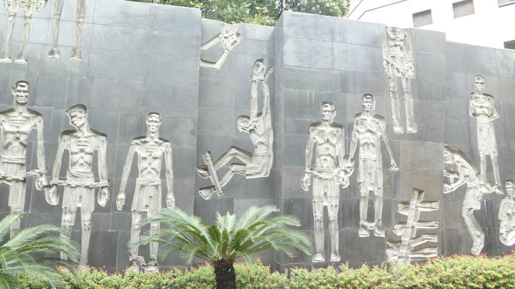 The Hoa Lo Prison in Hanoi