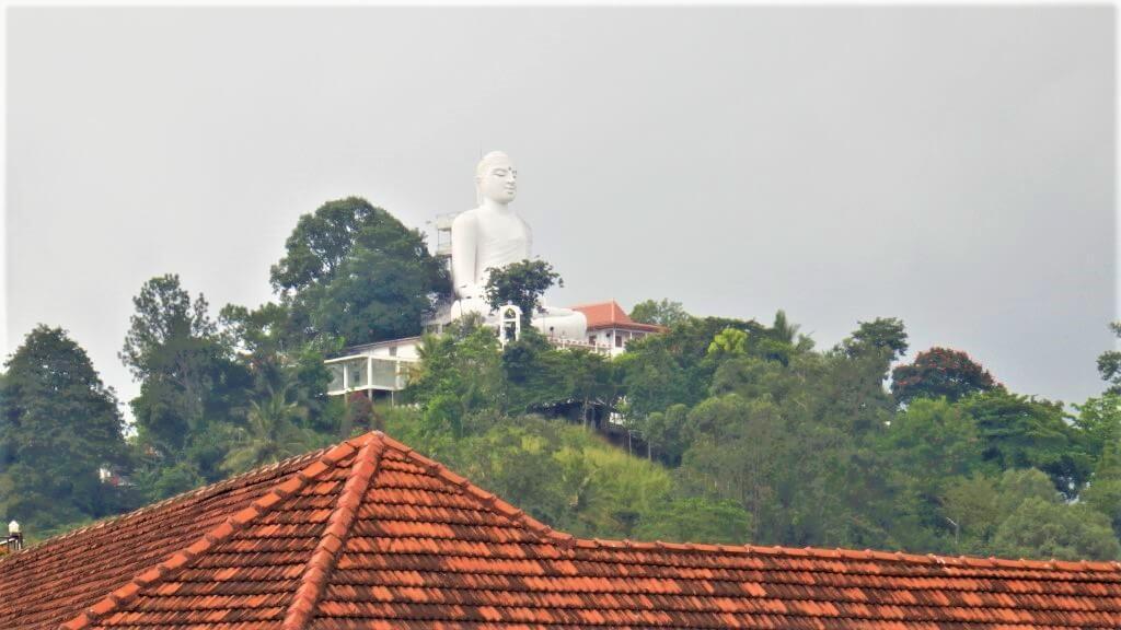 Bahirawakanda Vihara Buddha Statue in Kandy