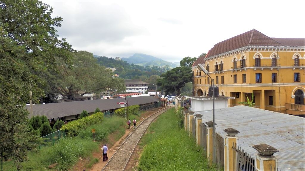 Kandy Train and bus station
