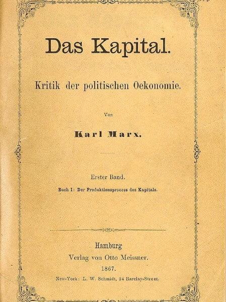 Das Kapital, written by Karl Marx
