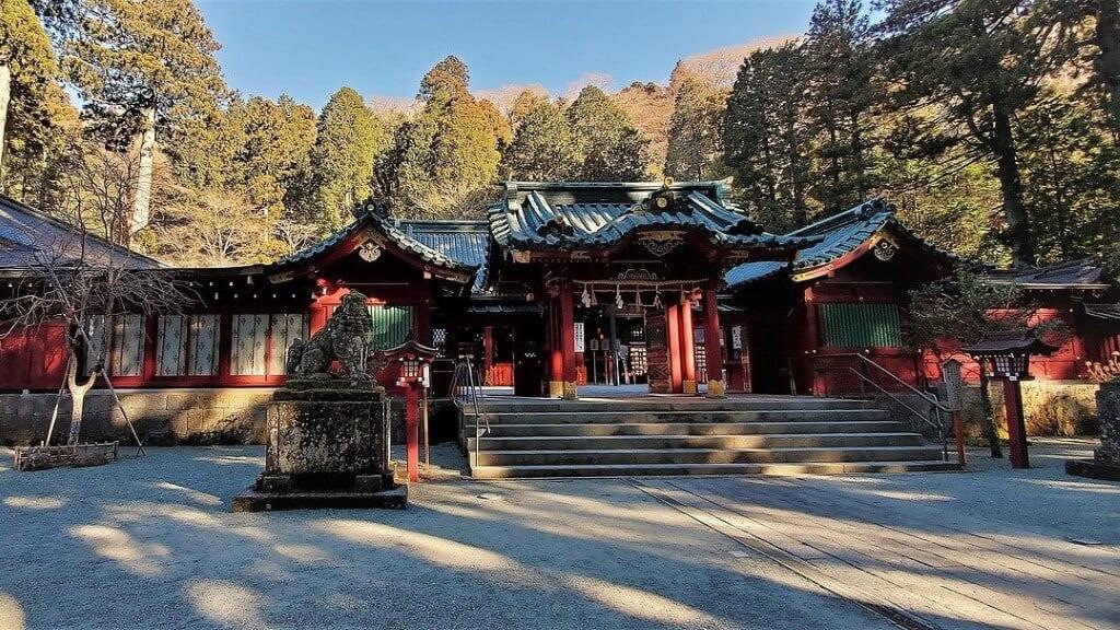 Hakone Mount Fuji Temple