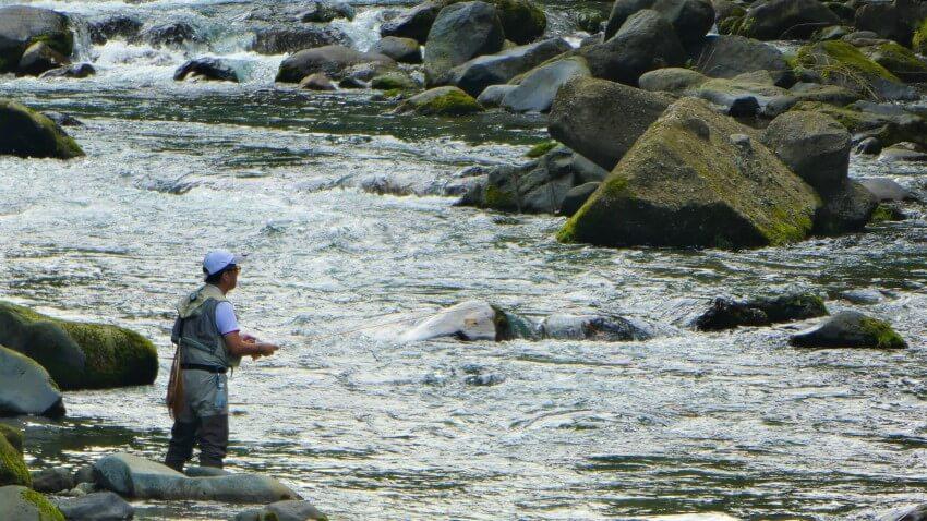 The Daiya River in Nikko National Park, Japan