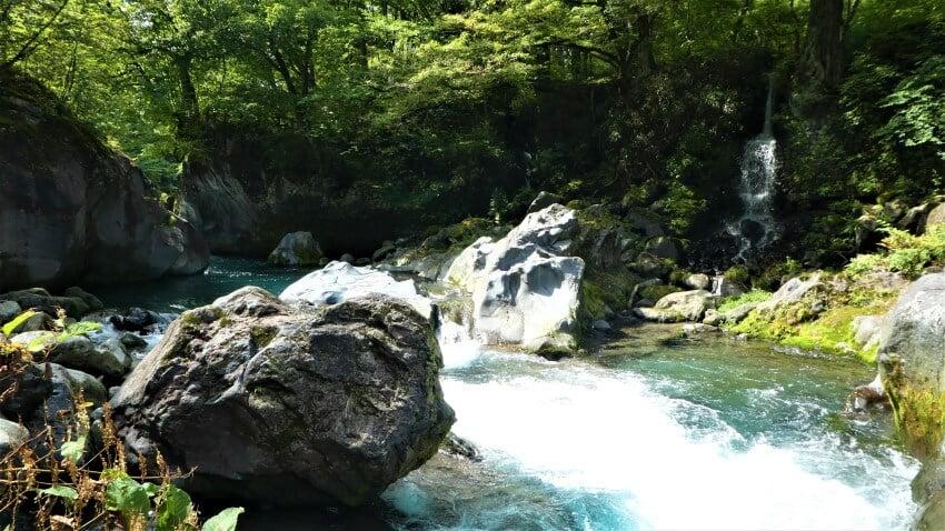 Daiya River and the Kanmangafuchi Abyss, Nikko