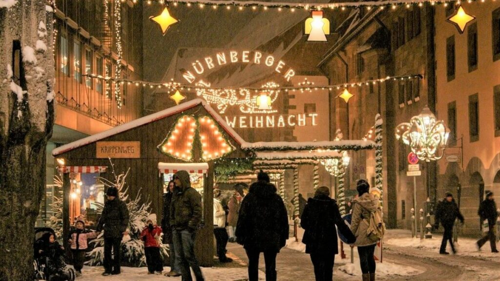 The largest Christmas market in Germany