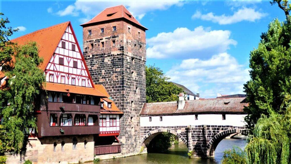 The old city center of Neurenberg