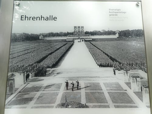 The Ehrenhalle of the Nazi Party Rally Grounds