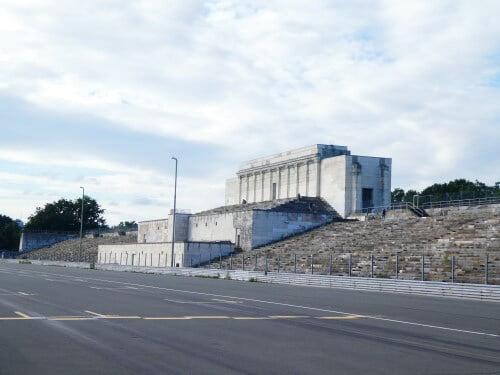 The Zeppelin tribune in Nuremberg