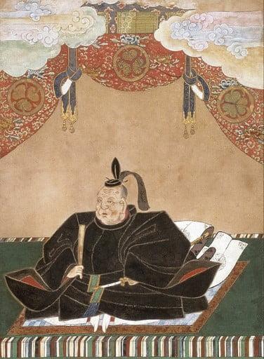 Shogun Ieyasu Tokugawa of Japan