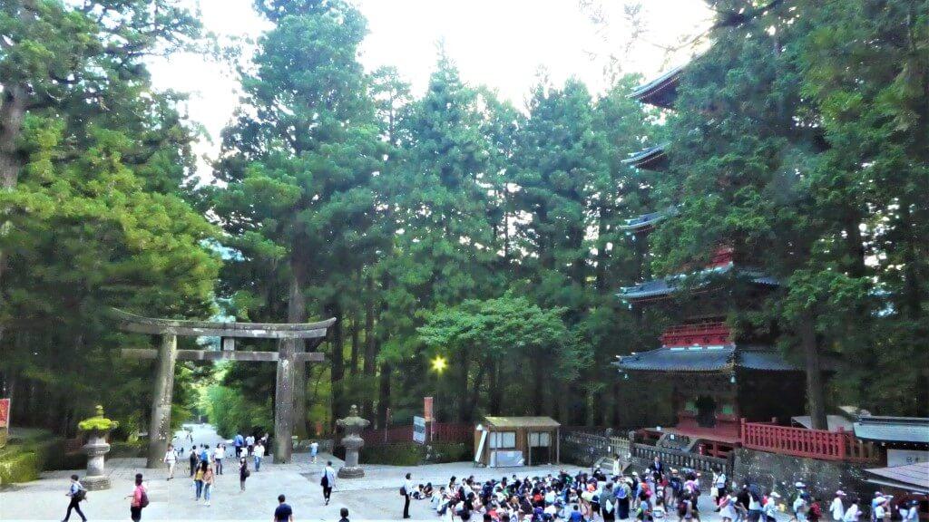 Pagoda at Nikko National Park, Japan