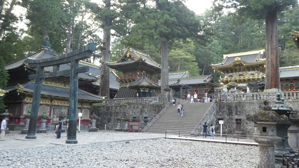 The beauiful Toshogu Shrine in Nikko National Park