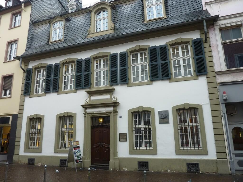 The Museum Karl-Marx-House in Germany