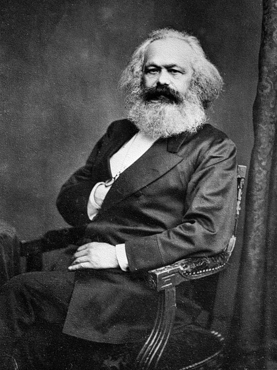 Karl Marx in 1975